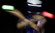 Virtualios realybės prietaisas