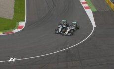 Lewiso Hamiltono ir Nico Rosbergo incidentas