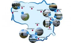 Top 10 ežerų saugomose teritorijose