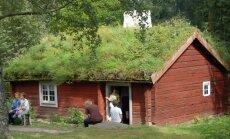 Velėninis stogas - kai kurių Skandinavijos šalių regionų tradicija