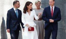 Lenkijoje lankosi karališkoji šeima