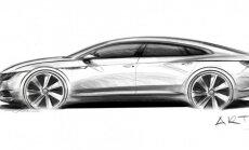 Volkswagen Arteon eskizas