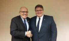 Rudy Giuliani ir Linas Linkevičius