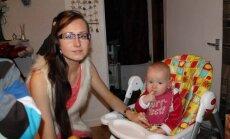 Dvejų metukų sūnelį auginanti Ingrida Lankelytė