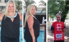 Rita, per 10 mėn. tik bėgiodama numetė 47 kg