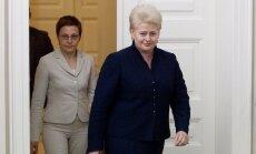 Daiva Ulbinaitė, Dalia Grybauskaitė