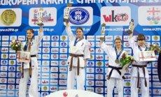 Europos čempionato katos rungtyje lietuviams – visų spalvų medaliai
