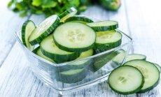 Agurkų dieta ne tik tirpdys kilogramus, bet ir išvalys organizmą
