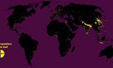 Populiacijos žemėlapis