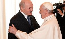 Alexandr Lukashenko and Pope Francis