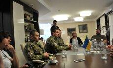 Buvę Charkovo Metalisto sirgaliai, vėliau tapo įvairių savanorių ir policijos specialiųjų dalinių nariais
