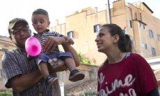 Nour Essa, Hasanas Zaheda ir judviejų dvejų metukų sūnus Riadas