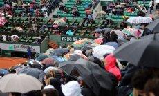"""""""Didžiojo kirčio"""" turnyrą Prancūzijoje drumsčia lietus"""