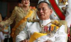 Tailando karalius Bhumibolas Adulyadejas