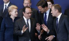 Dalia Grybauskaitė, Francois Hollande'as, Markas Rutte, Donaldas Tuskas