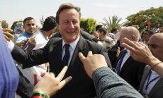 Davidas Cameronas Libijoje