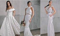 Naujienos vestuvių rinkoje – pintos nuotakų suknelės
