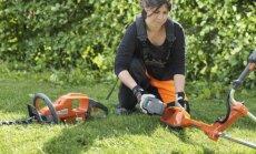 Akumuliatorinę sodo techniką, pasižyminčią mažesne vibracija bei svoriu, mielai renkasi  moterys, kurios pačios mėgsta rūpintis veja ar kiemo gyvatvore.