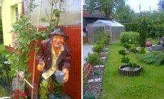 7 arų aplinka Panevėžyje: vietoj naujų batų – gėlės sodui