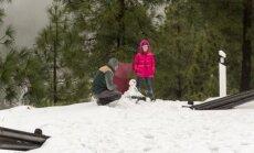 Sniegas Gran Kanarijoje