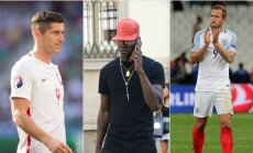 Robertas Lewandowskis, Mario Balotelli, Harry Kane'as (Sipa ir AP nuotr.)