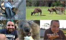Antanas Urbonas Australijoje sutiko daugybę nematytų gyvūnų