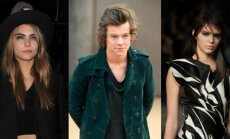 Cara Delevingne, Harry Styles ir Kendall Jenner