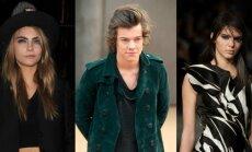 Cara Delevingne, Harry Styles ir Kendall Jenner