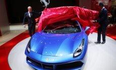 Frankfurto parodoje pristatomas Ferrari 488 Spider