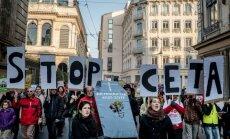 Protestas prieš  Europos Sąjungos ir Kanados laisvosios prekybos sutartį