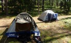 Nelegali stovyklavietė