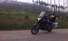 Motociklu nuo Lisabonos iki Vladivostoko