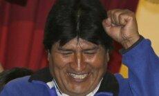 Bolivijos prezidento rinkimus laimėjo Evo Moralesas