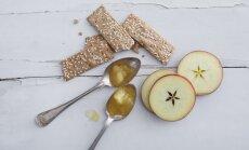Karamelės skonio obuolių uogienė