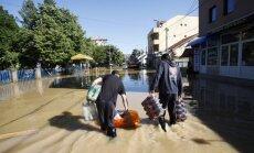 Dėl klimato kaitos pasaulyje prasidės potvyniai