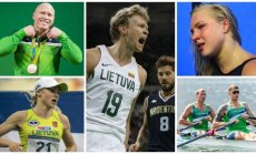 Lietuvos sportininkai (A. Pliadžio, V. Dranginio, AFP-Scanpix nuotr.)