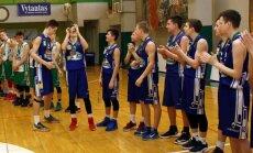 Mažeikių krepšininkai triumfavo U15 čempionate