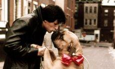 Sylvesteris Stallone ir jo augintinis Butkus