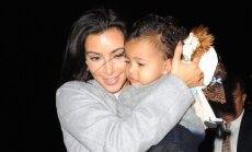 Kim Kardashian dukrelė North West