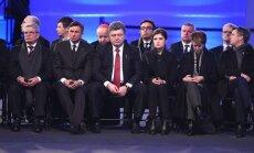 Pasaulio lyderiai ir išgyvenusieji mini Aušvico išvadavimo 70-ąsias metines