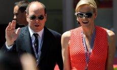 Monako princas Albertas ir princesė Charlene