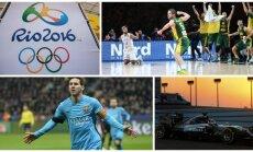 Svarbiausi 2016-ųjų pasaulio sporto įvykiai