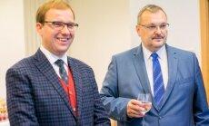 Vytautas Gapšys ir Kęstutis Daukšys