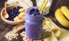 Mėlynių sezonas: 5 skirtingų skonių kokteiliai sveikai jūsų ryto pradžiai