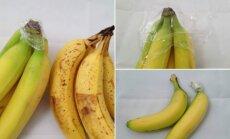 Bananų išsaugojimo triukas