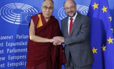 Dalai Lama ir Martinas Schulzas