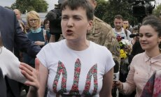 Nadežda Savčenko sugrįžo į Kijevą