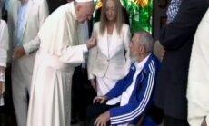 Popiežius Pranciškus, Fidelis Castro