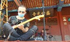 Grupė Žalvarinis Kinijoje