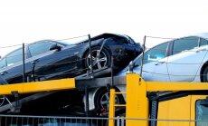 Daužtas automobilis (asociatyvi nuotr.)